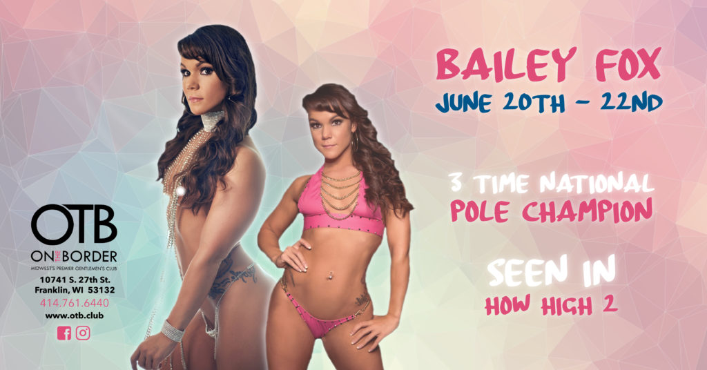 Bailey Fox - 3 time national pole champion - June 20 to June 22
