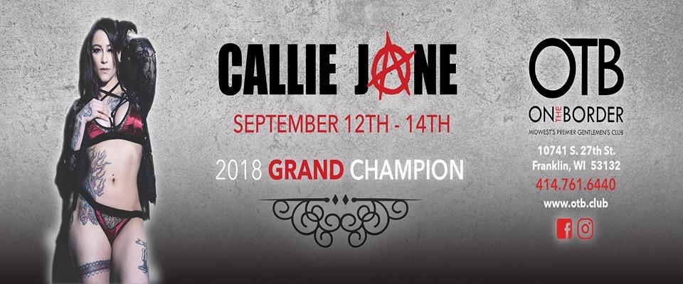 Callie Jone September 12 - 14 2019 at On the Border