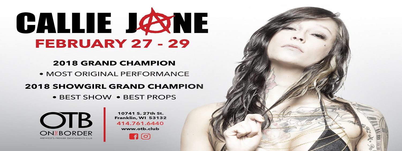 Callie Jone February 27-29